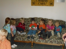 lots of kids on couch